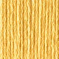 Lily Sugar'N Cream Aran Knitting Wool Yarn 71g -1612 Country Yellow